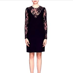 GIVENCHY Lace-Inset  Dress